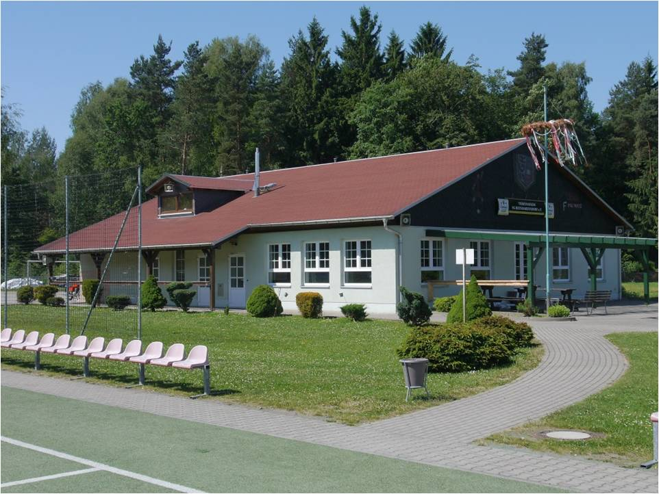 Sportlerheim in Reinhardtsdorf